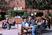 Best Restaurants in NYC for Outdoor Dining | Hudson Hotel's Tequila Park