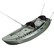 Best Ocean Fishing Kayak | Lifetime 10 Foot Sport Fisher Tandem Kayak