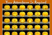 SMART Notebook Attendance Files | Jack-O'-Lantern Attendance