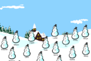 SMART Notebook Attendance Files | Winter attendance & lunch count (Snowmen)