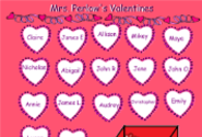 SMART Notebook Attendance Files | Valentine Attendance