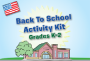 Back To School Activity Kit, Grades K-2
