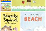 13 Books About The Beach For Kids - No Time For Flash Cards
