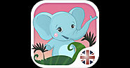 English for kids with Benny. Learning English language by flashcards: colors and numbers, greetings and family, food ...