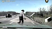 "2016 Golden Post Award Finalists | ""Dash-Cam Facebook Post: Trooper Saves Life"", Ohio State Highway Patrol"