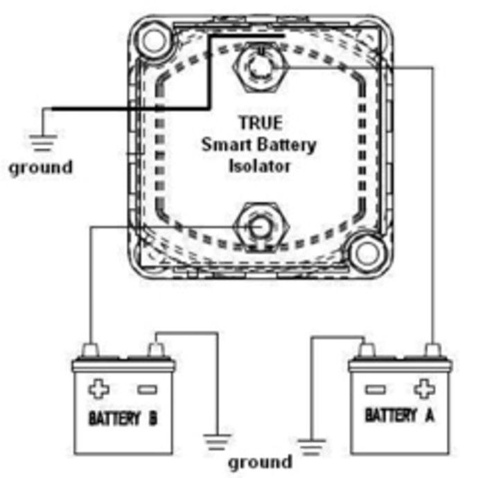 dual battery isolator kit