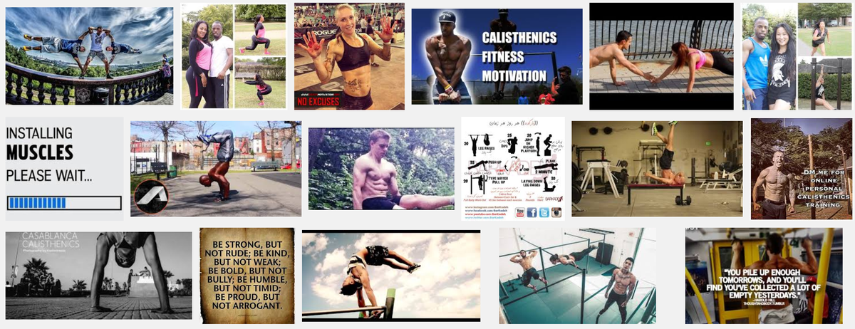 Headline for Calisthenics Motivational Pictures and Videos