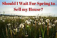 DIY Top 7 Blogs To Spruce Up Your Home To Sell This Spring | Should You Wait For Spring to Sell Your Home? 12 Real Estate Pros Weigh in!