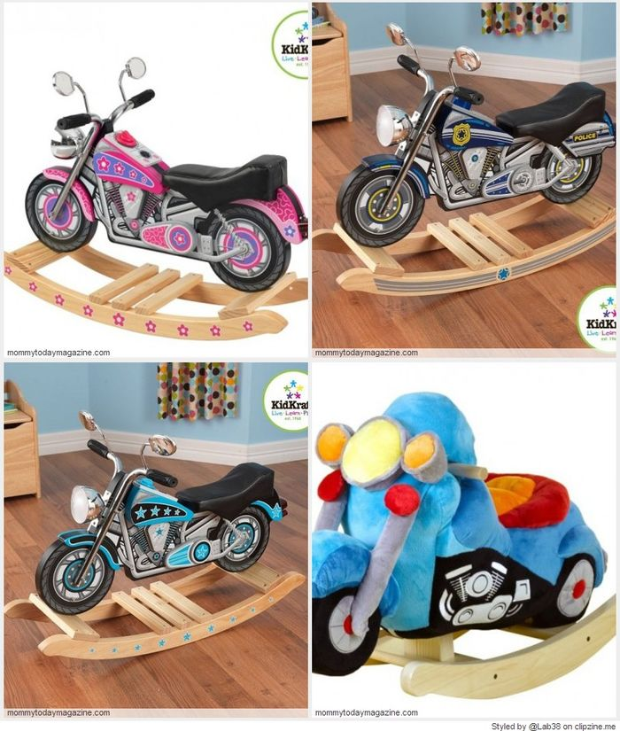Motorcycle Rocking Horses 2016