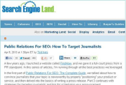 prnewswire content audit as of 08-11-2013 | PR: The Big SEO Trend for 2013?