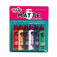 Fabric Art: Where to Get and How to Make Fabric Paints | Tulip Matte Fabric Paint Set | Walmart.ca