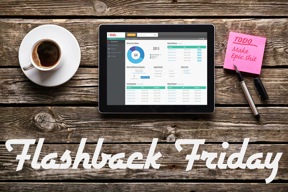 Headline for Flashback Friday: Best Articles in UX, Design & Ecommerce This Week (April 4-8)