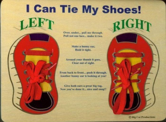 How To Teach Kids To Tie Shoes