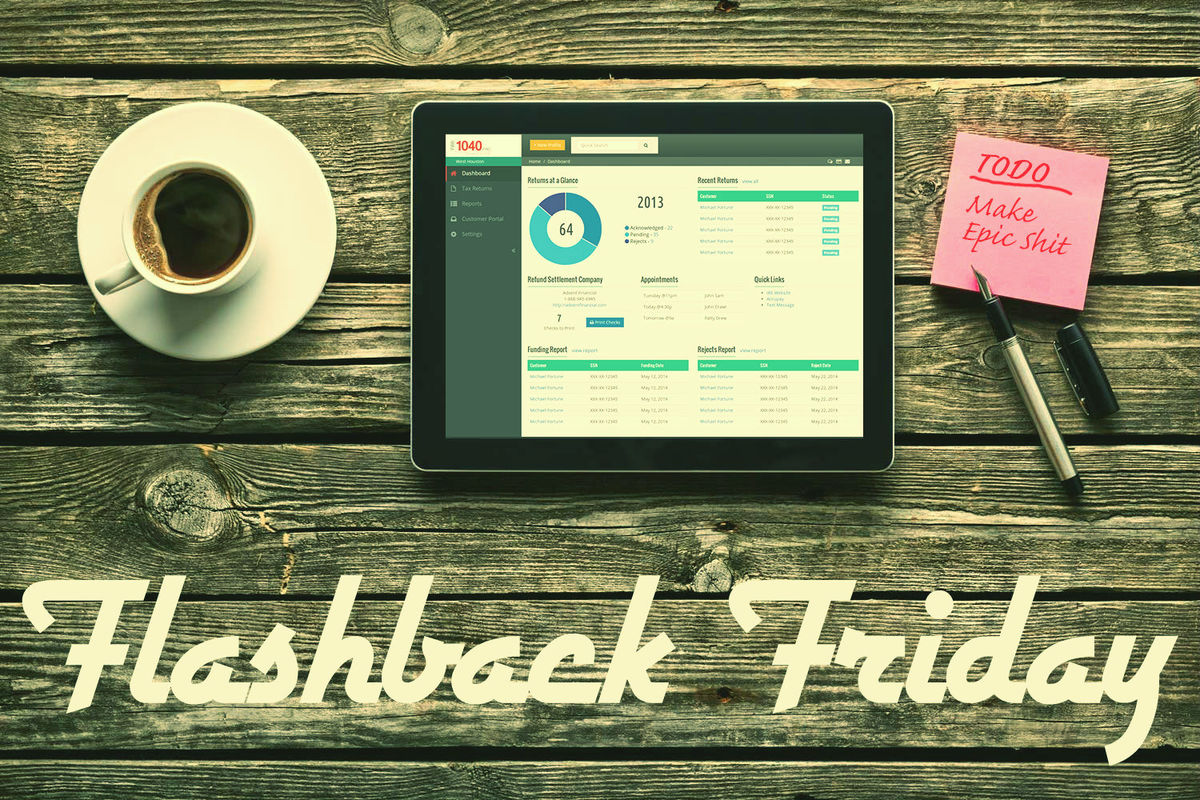 Headline for Flashback Friday: Best Articles in UX, Design & Ecommerce This Week (April 11-15)