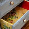Non-Committal Ways to Use Wallpaper as an Interior Design Element | Drawer Liner