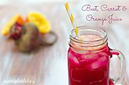 Tasty & Nutritious Juice Recipes with Beetroot | Beet, Carrot & Orange Juice