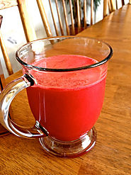 Carrot, Beet and Pineapple Juice