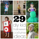 Halloween and Cosplay | 29 Homemade Kids Halloween Costume Ideas