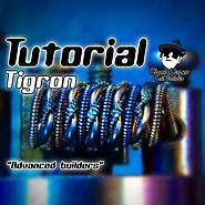 Ghost Vapor Coil artist | TIGRON COIL ( TUTORIAL ) 0.2 ohm