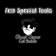 Ghost Vapor Coil artist Tips / Tricks | COIL BUILDER TOOLS ( few special tools)