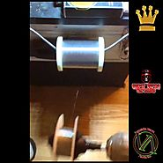 "Ghost Vapor Coil artist Tips / Tricks | Coil Builder ""TRICK"" Make Smaller Spool of Wire ( Out of Big one)"