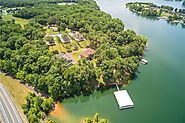 10 of the MOST EXPENSIVE Lake Homes in Tennessee | Tims Ford Lake - Expansive Corporate Retreat $8,900,000 (lake house #1)
