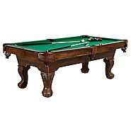Barrington 90 in. Claw Leg Billiard Table