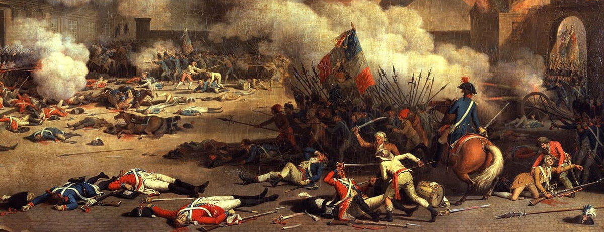 the coming of the french revolution thesis The french revolution remains one of the most important events in world history, a catalyst for change throughout europe and beyond when asked what its impact had.