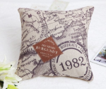 Nautical Chart Throw Pillows