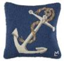 anchor throw pillows