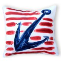 outdoor nautical throw pillows
