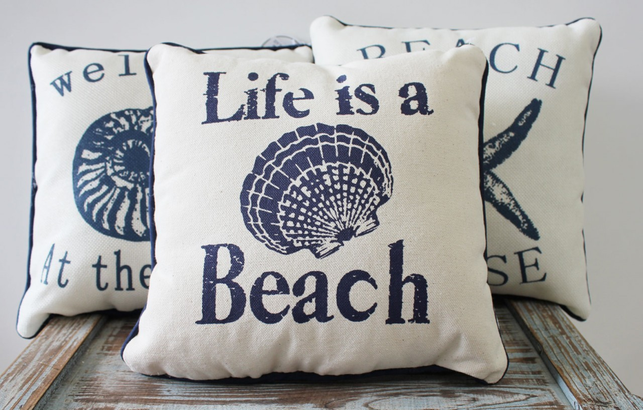 Nautical Throw Pillows - The Ones We Love