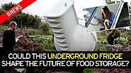 Friends' News | £5,800 underground fridge could be the next big thing in food storage