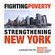 Podcasts Made by Nonprofit Organizations and Government Agencies (that aren't media focused) | Fighting Poverty, Strengthening New York