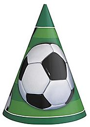 Soccer Party Hats