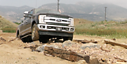 Industry News | Aug 12, 2016 - Test Drive: We punish Ford's 2017 Super Duty with a rocky climb and a muddy dive (VIDEO)