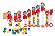 Summer Pre-School Prep | See-Inside Counting Tubes at Lakeshore Learning