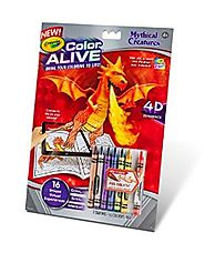 Spark Creativity this Summer | Crayola Color Alive Action Coloring Pages-Mythical Creatures