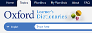 Useful Websites & Apps for ELTC Students | Topic Dictionary by Oxford Learner's Dictionaries