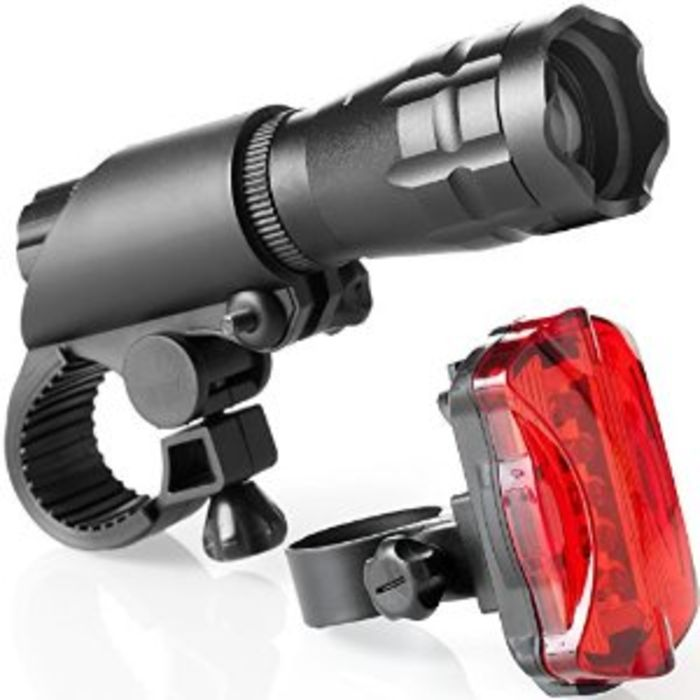 Best Bicycle Headlight And Taillight Sets Reviews A