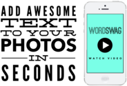 33 Graphic Resource Tools To Create Stunning Visual Content | Word Swag App - Generate Cool Text, Words & Quotes on Your Photos