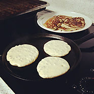 A Flat pan or Griddle