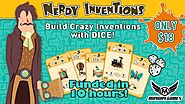 Nerdy Inventions - The Crazy Inventions Dice Game