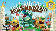 Isle of Monsters - A Monster Wrangling Game for 2-5 Players