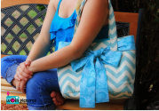 Handmade Chevron Bags and Totes