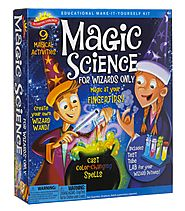 2016 Best Educational Toys for 6 Year Olds - Top Reviews List | Scientific Explorer Magic Science Kit for Wizards Only