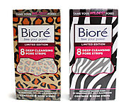 Must have beauty supplies for the end of summer | Bioré Pore animal print strips
