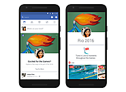 Facebook rolls out a personalized Olympics section in the News Feed, plus Olympic filters and frames