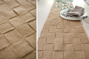 {Tara Dennis}Jute Table Runner