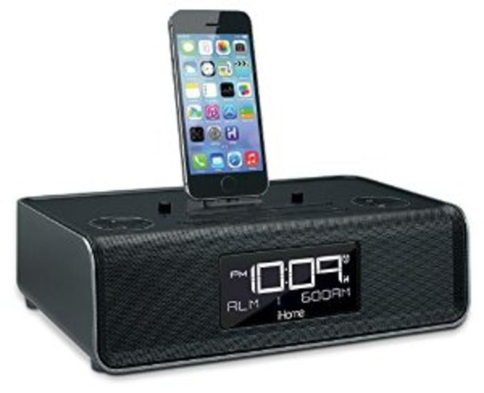best iphone 6 plus docking stations with alarm clocks reviews a listly list. Black Bedroom Furniture Sets. Home Design Ideas